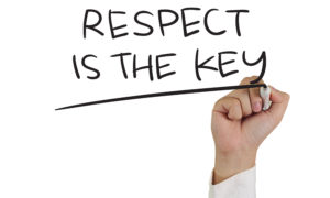 Respect is the Key