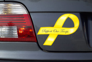 troops yellow ribbon