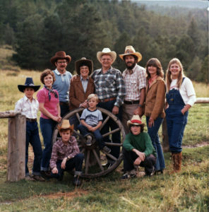 1980 - Edmonds Family at Lost Valley Ranch