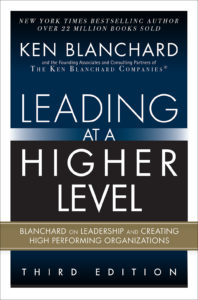 Book Cover - Leading At A Higher Level