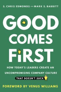 good comes first book cover